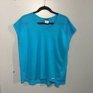 Womens Blue Nike Shirt size XL